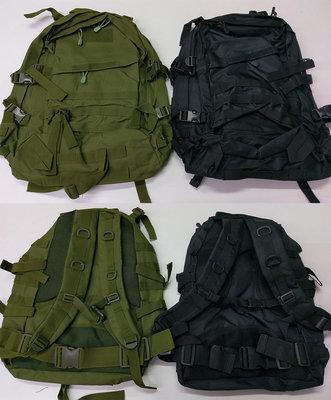 Рюкзак тактический - олива и черный, для подразделений