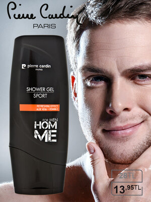 Pierre cardin shower gel 300 ml - sport гель для душа