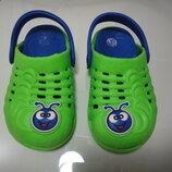Турецкие кроксы Crocs гусеницы р. 25 стелька 15,5 см, Без запаха отличное