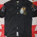 Нарядная стильная фирменная шведка рубашка бренд La Martina.м .