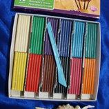 Игрушка развивающая Пластелин 12 цветов с ножом 165x155
