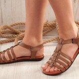 Распродажа Женские удобные босоножки сандалии Кожа 36,37,38,39 Турция