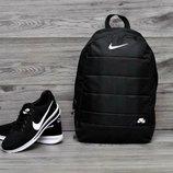 Рюкзак в стиле Nike Air Черный городской мужской