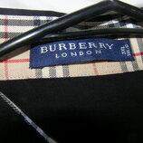 Burberry мужская рубашка черного цвета 3XL размер. 100% хлопок. Италия