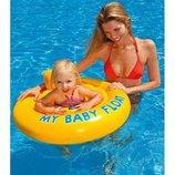 Круг для малышей от 6 мес. до 1 года, Intex 56585