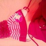 Шапка и шарф в отличном состоянии
