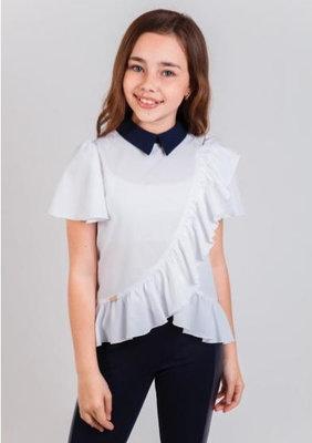 Блузка школьная нарядная Кассандра тм Suzie Размеры 128- 152 Новинка