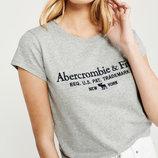 Футболка женская Abercrombie & Fitch размер S, новая в наличии с бирками