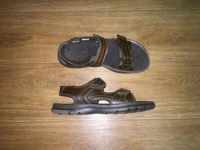 Кожаные босоножки,сандалии rockport, стелька 29,5 см