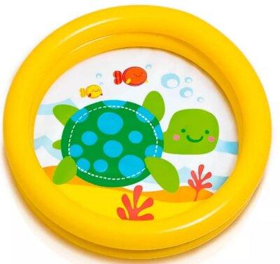 Бассейн надувной Intex для детей от 1-3х лет,61х15см, 19л, 59409