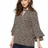 Очень качественная стильная блуза от F&F рр 22 наш 52-56