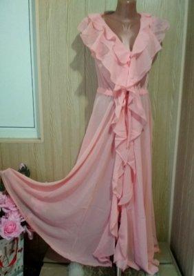 Шикарные длинные пляжные платья туники халаты накидки