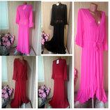 Шикарные длинные пляжные платья туники халаты накидки-разные цвета и размеры
