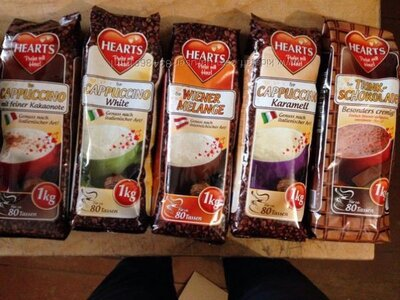 Капучино Hearts 1 кг. Германия.