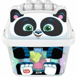 Mega Bloks First Builders Конструктор 25 деталей веселый панда GCT47 Smiley Panda