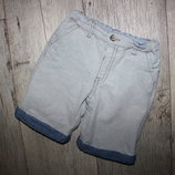 Шорты бриджи стильные серые 4-5 лет, рост 104-110 см.