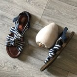 Сша, стелька 24,5см, на стопу 23,5-24см, стильные легкие комфортные босоножки