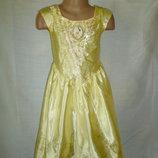 платье Белль на 3-4 года