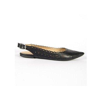 Черные балетки с острым носком, балетки босоножки черные, черные сандалии летние