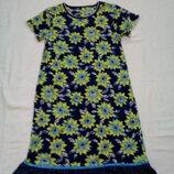 Платье в цветы TU на р 146- 152 см