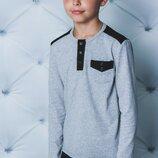 Стильный реглан для мальчика стрейч-кулир vsl-01988