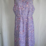 Натуральное легкое платье лен катон BHS 18p