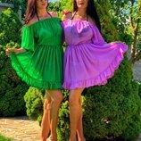 Пляжное платье туника для отдыха