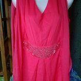 Яркое летнее платье 46-48 р