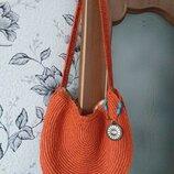 Ugg плетенная сумка