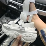Босоножки Buffalo London Sandals White