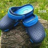 Сабо, кроксы женские синие мужские подросток. Украина