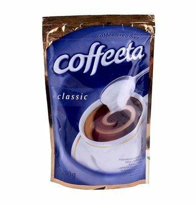 Большая упаковка,хватает надолго Сухие сливки Coffeeta classic 200 гр Польша