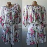 Платье пляжное, открытые плечи, вискоза. New Look