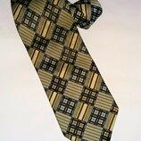 Мужской шелковый стильный галстук Ermenegildo Zegna Оригинал