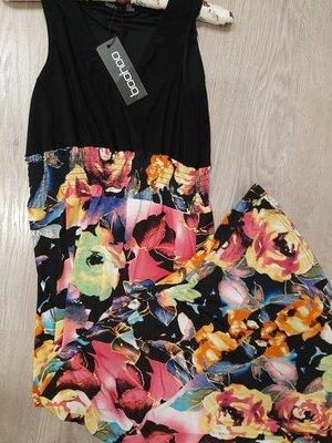 Платье в пол р.М-Л Boohoo