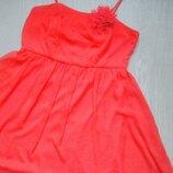 Лёгкое шифоновое платье