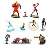 Большой набор фигурок Суперсемейка-2 Deluxe Disney Pixar