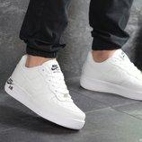 Кроссовки мужские Nike Air Force AF 1 white 8092