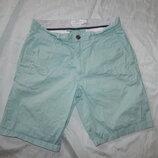 шорты мужские котоновые голубые стильные модные р32 Chino