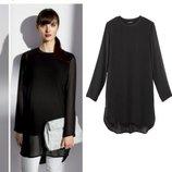 Роскошная шифоновая туника платье блуза с подкладкой Esmara Германия