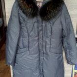 Продам пальто пуховик куртку женское