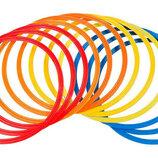 Кольца тренировочные футбольные в чехле 4602-60 12 колец, диаметр 60см