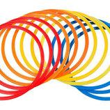 Кольца тренировочные футбольные в чехле 4602-50 12 колец, диаметр 50см