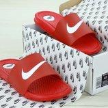 Мужские шлепанцы Найк Nike Red