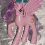 коллекционно-игровая фигурка Пони Единорог Принцесса Селестия My Little Pony Hasbro Сша оригинал