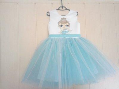 Продано: Платье детское нарядное Лол
