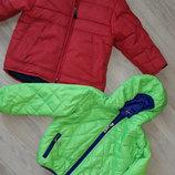 Куртки деми и зима 3-5лет