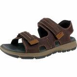 Высококачественные мужские сандалии Clarks Brixby Shore
