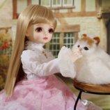BJD кукла. SD куклы 1/4 модель. Высокое качество. Полный комплект