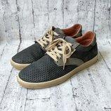 Туфли clubshoes кожаные с перфорацией 41 р.